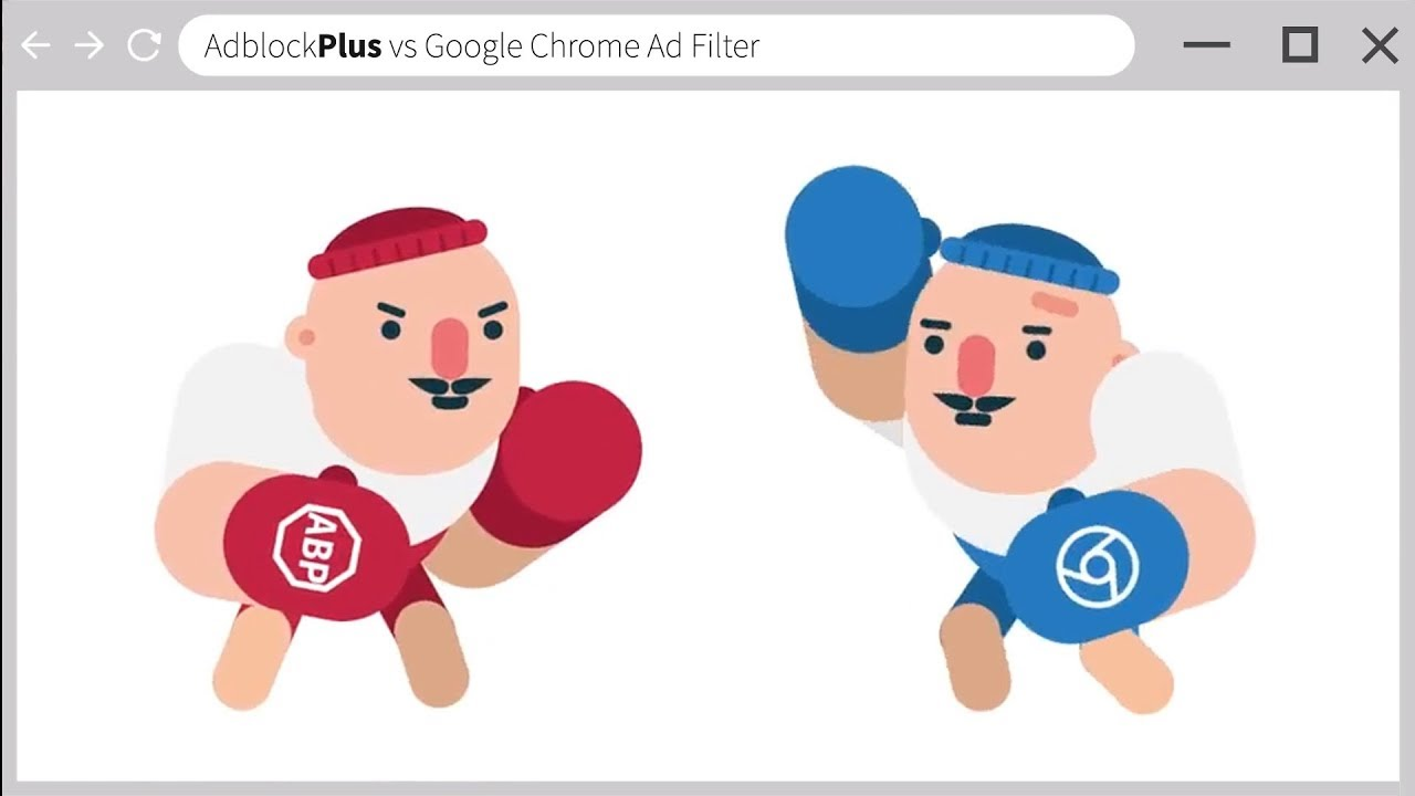 Adblock Plus vs Google Chrome Ad Filter