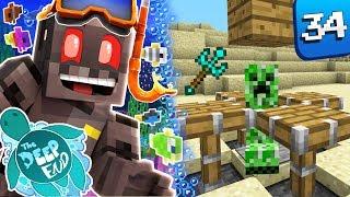 Minecraft The Deep End SMP Episode 34: Trident Warrior