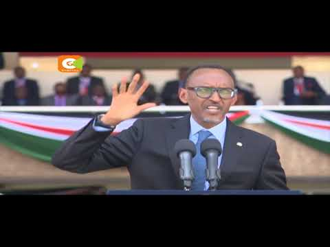 11 heads of state and gov't attend Kenyatta's swearing in ceremony