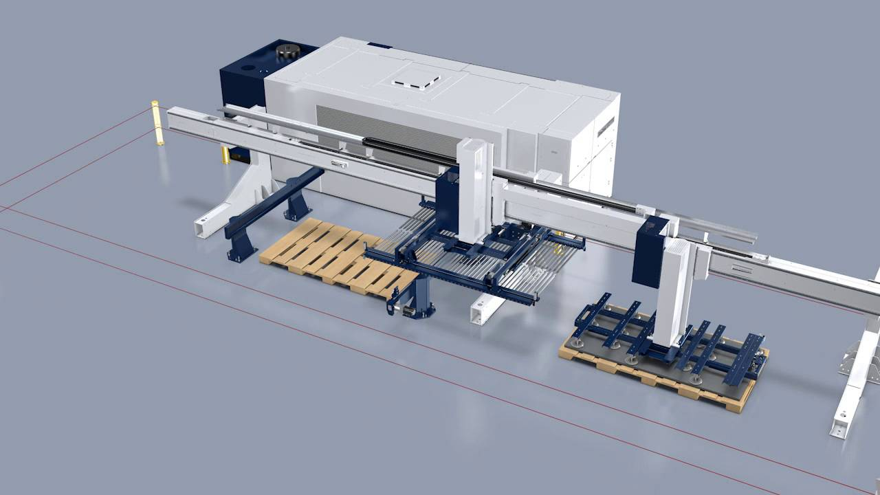 Trumpf Automation Liftmaster Shuttle Highly Flexible