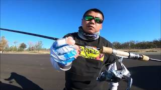 Trout fishing with Notorious Custom Jigs and paddle tail swimbait by RUNCL