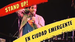Simon Booth - Stand up Ciudad Emergente 2014