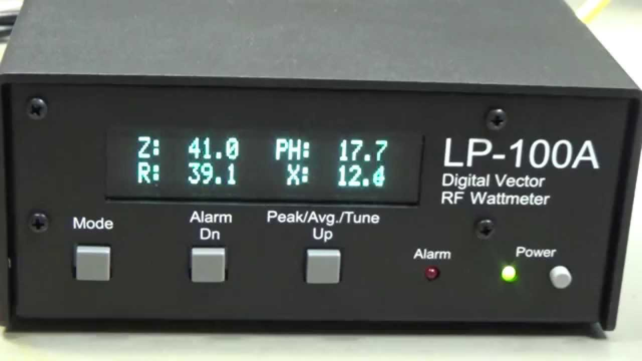 #41 Electronic Measurement Equipment: Review LP-100A Digital PEP/Avg Vector  Wattmeter TelePost Inc