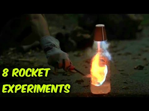 8 Easy Rocket Experiments Compilation