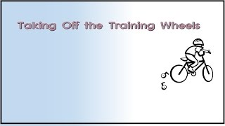Proofs in English: Taking the Training Wheels Off