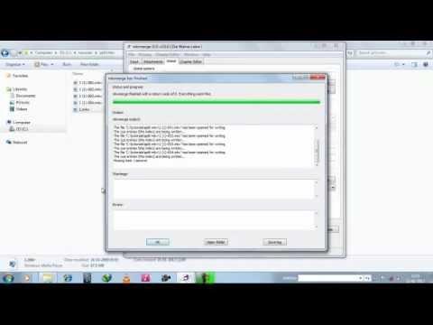 How to split  mkv video files using MKVToolnix GUI
