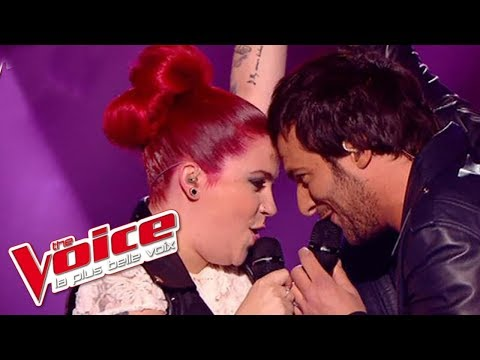 Bill Medley – The Time of My Life  Amir Haddad & Manon Trinquier  The Voice 2014  DemiFinale