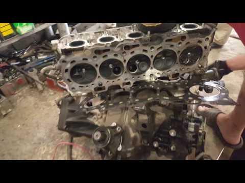 Фото к видео: Разборка двигателя G25A