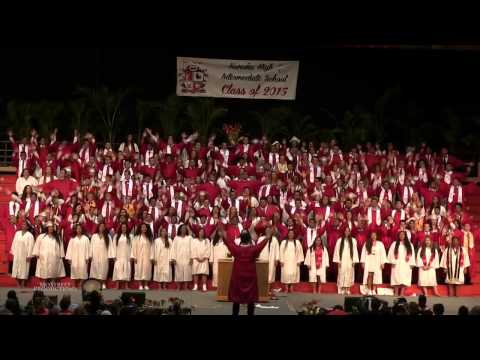 Hawaii high school class performs hip-hop, pop medley at graduation ceremony