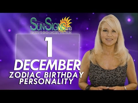 Facts & Trivia - Zodiac Sign Sagittarius December 1st Birthday Horoscope