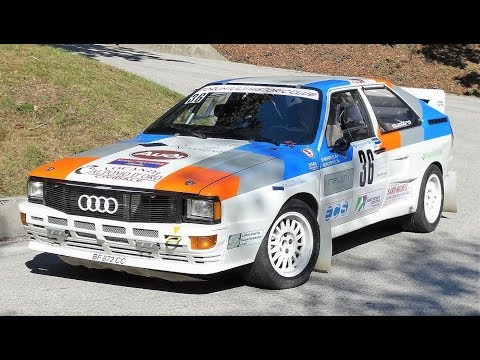 Audi Quattro A2 Group B // 5 Cylinder Monster Sound - Cividale 2017