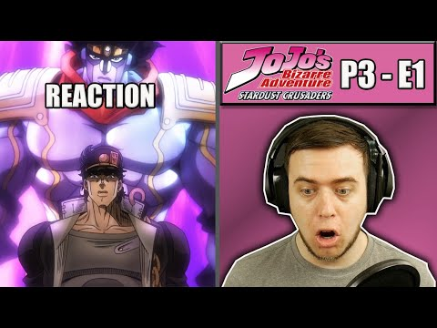 Rich Reaction - Jojo's Bizarre Adventure STARDUST CRUSADERS Episode 1 - OutSTANDing Jotaro!