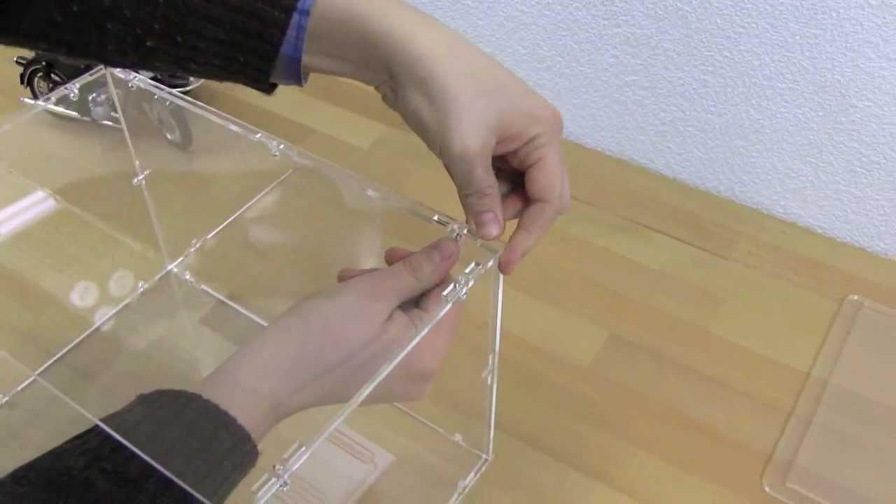Bevorzugt Aufbauanleitung Acrylhaube - YouTube AD77
