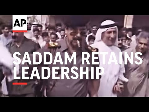 Iraq/Kuwait - Saddam Retains Leadership