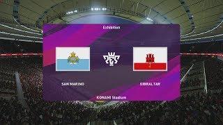 PES 2020 - San Marino vs Gibraltar