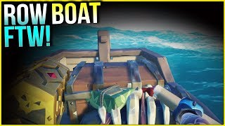 ROW BOAT FTW! -The Sea of Thieves - Shrouded Spoils | Ep. 31