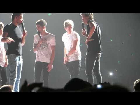 One Direction - The Boys Doing Animal Impressions - Brisbane Concert