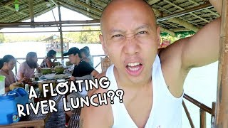 FLOATING RIVER LUNCH IN PHILIPPINES (BOLINAO, PANGASINAN) | Vlog #118