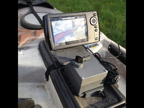 Kayak Fish Finder Mount - is there an easier way?