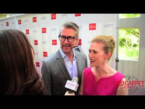 Alan Ruck & Mireille Enos at The Actors Fund's 19th Annual LA Tony Awards Viewing Party