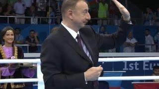 Ильхам Алиев преподал урок этики на I Европейских Играх Баку-2015