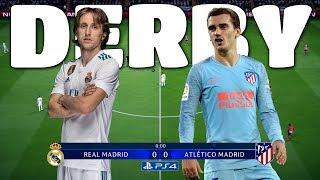 REAL VS. ATLETICO!   FIFA 19 DEMO CZ