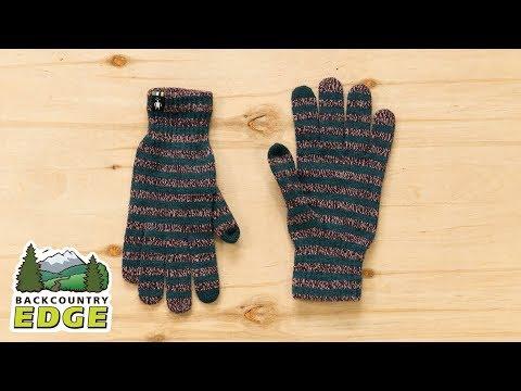 Smartwool Women's Striped Liner Gloves YouTube