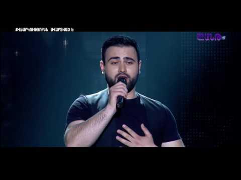 X Factor 4 Andre Abraham Khublaryan - Xachin Mot