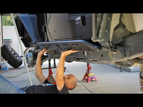 Jeep Wrangler Rocker Rail Install PLUS How to Make Your Chassis Look Amazing