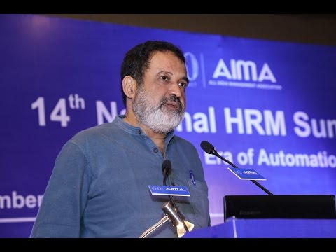 Jobs in Era of Automation - MohanDas Pai (14th National HRM Summit)