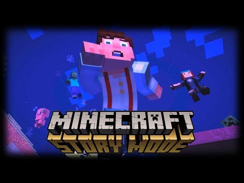 SHADY DARK ALLEY DEALINGS! (Minecraft Story mode Season 1 Ep1.2)