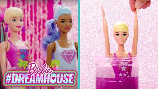 GLITTER SPA DIYS! LIP BALM + LOTION + CLAY MASKS  | #DreamHouse Episode 11 | @Barbie