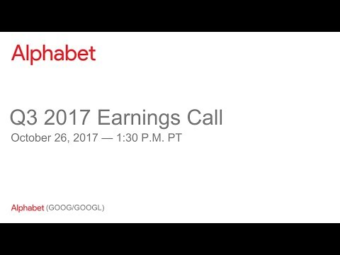 Alphabet 2017 Q3 Earnings Call