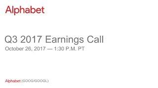 Alphabet 2017 Q3 Earnings Call thumbnail