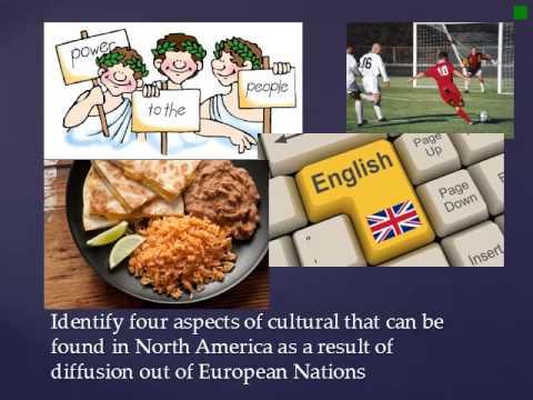 Cultural and Spatial Diffusion