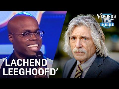 Johan maakt zich niet druk om Jandino: 'Lachend leeghoofd' | VERONICA INSIDE RADIO
