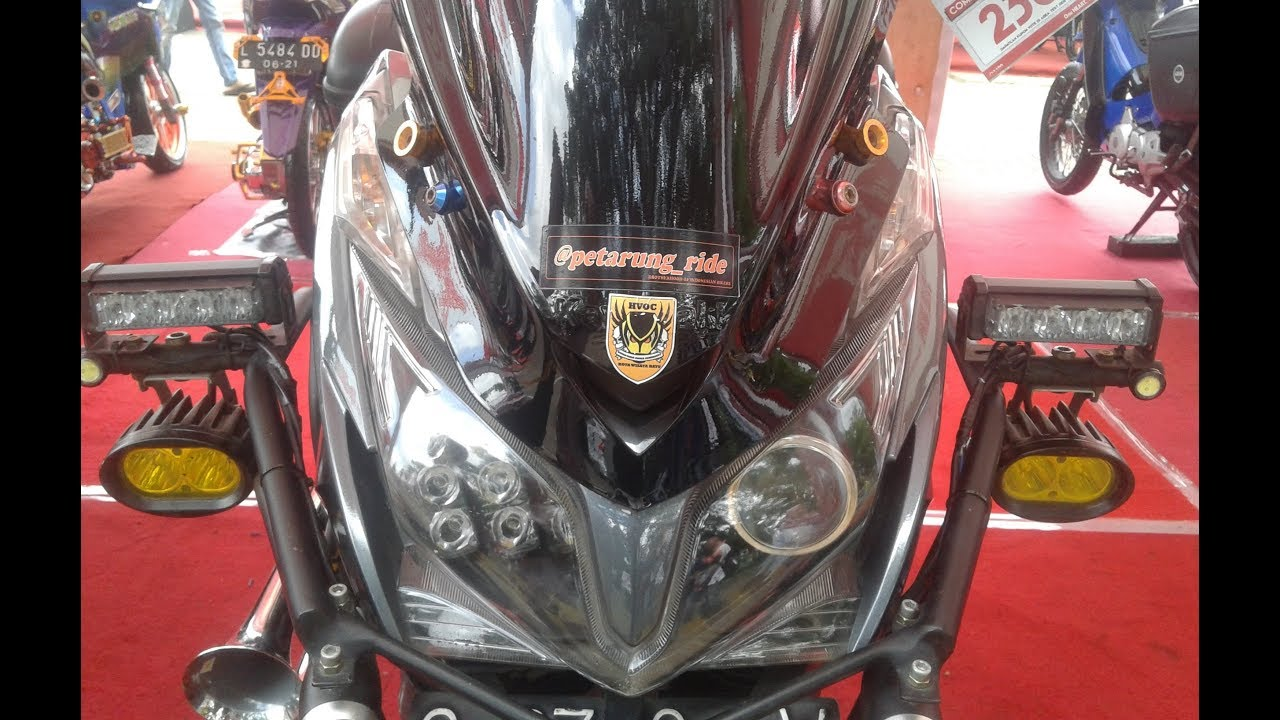 Modifikasi Motor Matic Touring Style Vario 125 Kontes YouTube