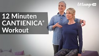 12 Minuten Workout CANTIENICA® Körper in Evolution | Benita Cantieni | Sinnsucher