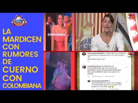 La Insuperable, Por Taguear A Dalisa En Video, La Mardicen Con Rumores De Cuerno Con Colombiana