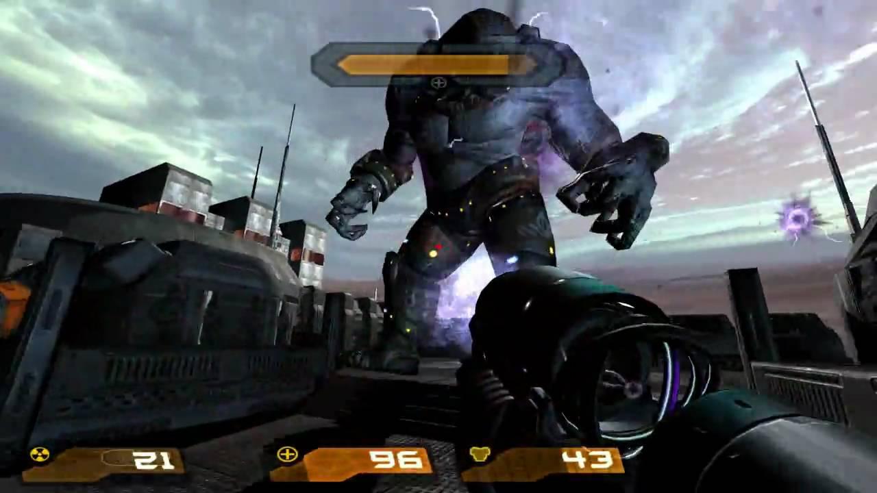 Quake 4 HD Walkthrough Part 33 - Data Networking Security