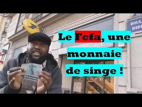Voici pourquoi le Fcfa est une monnaie de singe.
