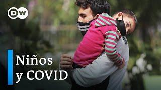El coronavirus afecta cada vez más a los menores