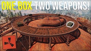 LUCKY WIPE DAY DOME RUN GIVES 2 WEAPONS IN 1 MILITARY CRATE - Rust DUO Survival Gameplay (S6-E2)