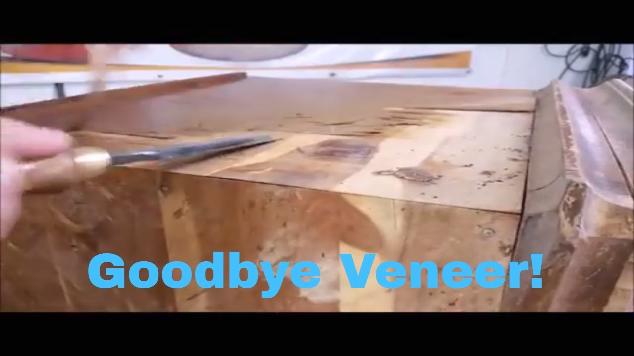 How To Remove Veneer From Furniture