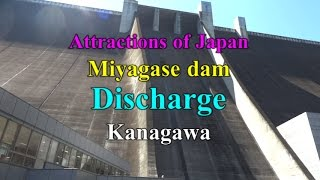 【Attractions of Japan】Miyagase dam Discharge