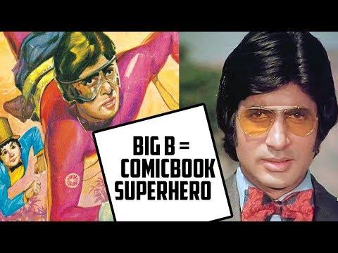 When Amitabh bachchan as Supremo was a comic book superhero