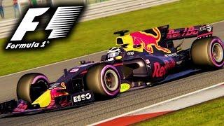 F1 2017 Mod Gameplay -  Assetto Corsa - Formula Hybrid 2017 RSS Mod