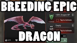 ★ War Dragons: How to Breed Kinnara! - First Epic Dragon (iPhone Game)