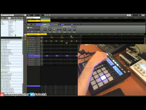 Native Instruments Maschine – Building A Basic Techno Beat