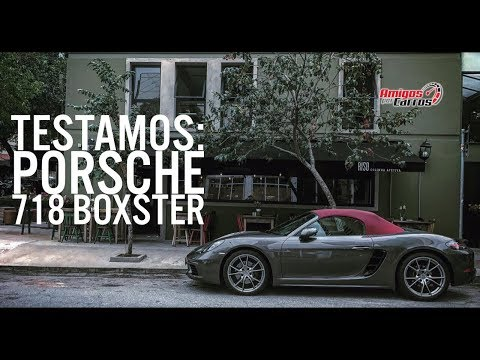 Testamos o Porsche 718 Boxster | ApC